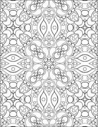 Small Picture Abstract Patterns Coloring Pages Abstract pattern Patterns and