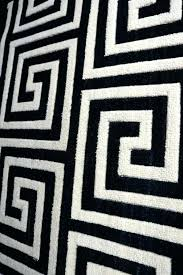 black and white geometric rug area colours harrietta wool black and white geometric rug