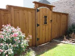 Beautiful Wood Fence Gate Plans Austin Fences Iron Intended Inspiration