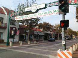 main street in garden grove as it appears today