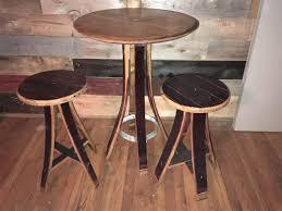 wine barrell furniture. Brilliant Barrell Wine Barrel Table And Chair Set In Barrell Furniture