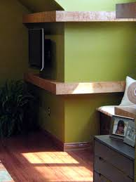 Floating Shelves Around Tv Impressive Cool Ideas For Laundry Room With Creative Stack Washing