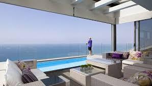Luxury Apartments Barcelona  Spectacular Seaview PenthouseSpectacular Penthouse With Sea View In Tel Aviv