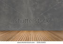 light wood floor perspective. Dark Gray Grunge Concrete Wall With Perspective Alignment Wood Floor Texture In Light Brown Color Tone W
