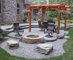 concrete patio designs with fire pit. Modren Pit Popular Of Patio And Firepit Ideas Concrete With Fire Pit 2016  Designs For P