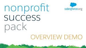 Nonprofit Success Pack Npsp For Salesforce Demo