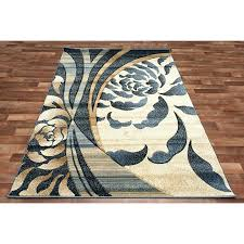 blue black rugs fl swirls area rug modern flower beige blue cream black nice color combination blue black rugs