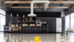 Matte Black Kitchen Cabinets Contemporary Kitchen 36 Stunning Black Kitchens Design
