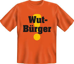 Wut Bürger T Shirt M