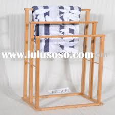 bathroom towel racks wooden images