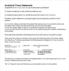 Thesis Statement Template Template Pinterest Thesis Statement