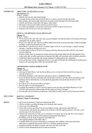 Advertising Sales Resume Advertising Sales Resume Samples Velvet Jobs 4