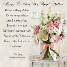 Happy Birthday in Heaven mom   ... in Birthday Cards - All ... via Relatably.com