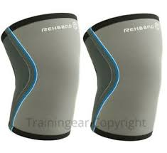 Details About Rehband Knee Sleeves Pair Grey Support 5mm M Crossfit Lifting Sleeve Gray Sale