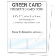 Printable Identification Card Printable Glossy Identification Cards