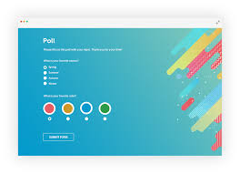 Your Free Online Free Online Poll Maker Create Polls As Easy As 1 2 3 123formbuilder