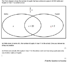 venn diagrams without probability by peter mattock   staffrmboth of these questions are in the venn diagrams word document in editable form on my tes resource area  which is at the link here