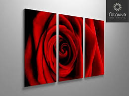 floral split panel canvas art  on red rose canvas wall art with triptych canvas prints split multi panel canvas wall art