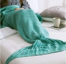 mermaid tail blanket afghan blanket mermaid gifts for her fall cold