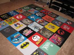 Adding Creativity to Your T-Shirt Quilt - Part II - Totally Stitchin & ... knew he wouldn't be up to giving his old, beat up shirts away)! This  quilt is backed, batted, and bound and it's queen size…it was pretty  difficult to ... Adamdwight.com