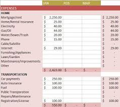 Budget Layout Example Free Budget Templates In Excel For Any Use