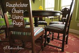 reupholster kitchen chairs with rugs easy diy inexpensive pillow covers