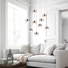 Moderne Kristall Decke Licht Pendelleuchte Lampe Cluster