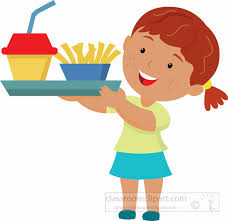 lunch tray clipart. Brilliant Tray Studentholdinglunchtrayfromcafetaeriaclipart3 Throughout Lunch Tray Clipart U