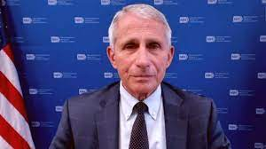 Dr. Anthony Fauci says the NFL is