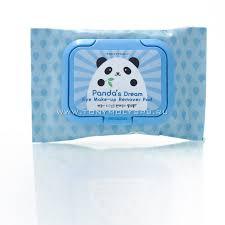 tonymoly Влажные салфетки для удаления макияжа panda s dream eye make up remover pad