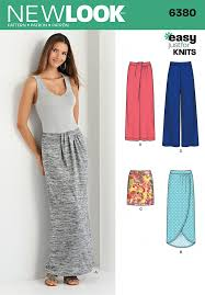 New Look Patterns Mesmerizing New Look 48 Sewing Patterns Knit Skirts Pants Sewcratic