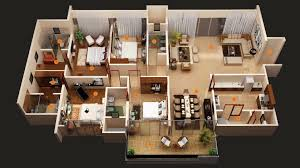 50 Four U201c4u201d Bedroom ApartmentHouse Plans  Architecture U0026 Design4 Bedroom Townhouse Floor Plans