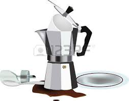 empty coffee pot clipart. Interesting Pot Empty Coffee Pot With Disorder And Inverted Sugar Royalty Free Cliparts  Vectors Stock Illustration Image 66455745 On Clipart E