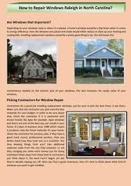What Kind Of Windows Do I Have How To Repair Windows Raleigh In North Carolina By Carolina