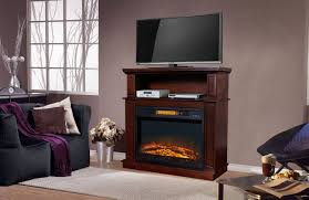 infrared fireplace heater 32 inch mantel decor flame tv stand