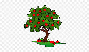 realistic apple tree drawing. Unique Apple Clip Art  Apple Tree Drawing Intended Realistic N