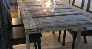 image 12 of 41 image to enlarge make dining table out old door