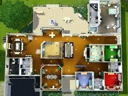 sims 3 floor plan blueprints 4 bedroom house 2 floor plans sims 3