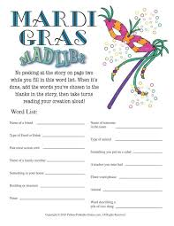 Gras: Mad Libs Game