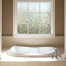 bathroom window glass. Gilaar Clear Mosaic Glass Scenes Window Film Gila Filmwindow Covering Ideas Bathroom