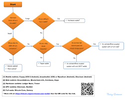 Bitcoin Wallet Chart Simple Flowchart To Choose A Bitcoin Wallet Open To