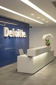 deloitte office reception looks great office design moderndesign