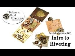 metal working intro to riveting you free tutorial from the potomac bead pany