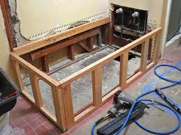 installing a new bathtub. Replacing A Bathtub With Deck Tub Installing New T