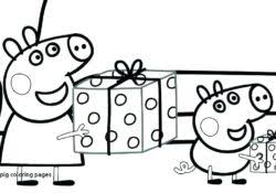 Peppa Pig Coloring Pages Archives Coloring Sheets