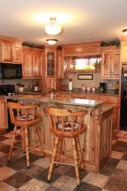 Kitchens Kitchen Storage Design With Hickory Kitchen Cabinets