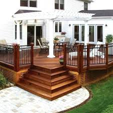 deck stair lighting ideas. Deck Stairs Ideas Designs With Railing Best Stair On Outdoor Beautiful Wooden For Lighting T