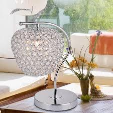 Table Lamp Sample Modern Minimalist Dimmable K9 Apple Led Crystal Table Lamp  Living Room Bedroom Bedside Decorative Lighting