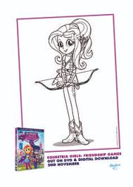 Small Picture Printable My Little Pony Equestria Girls Coloring Sheet