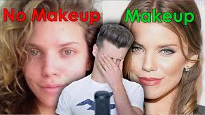 my boyfriend thinks i m ugly without makeup